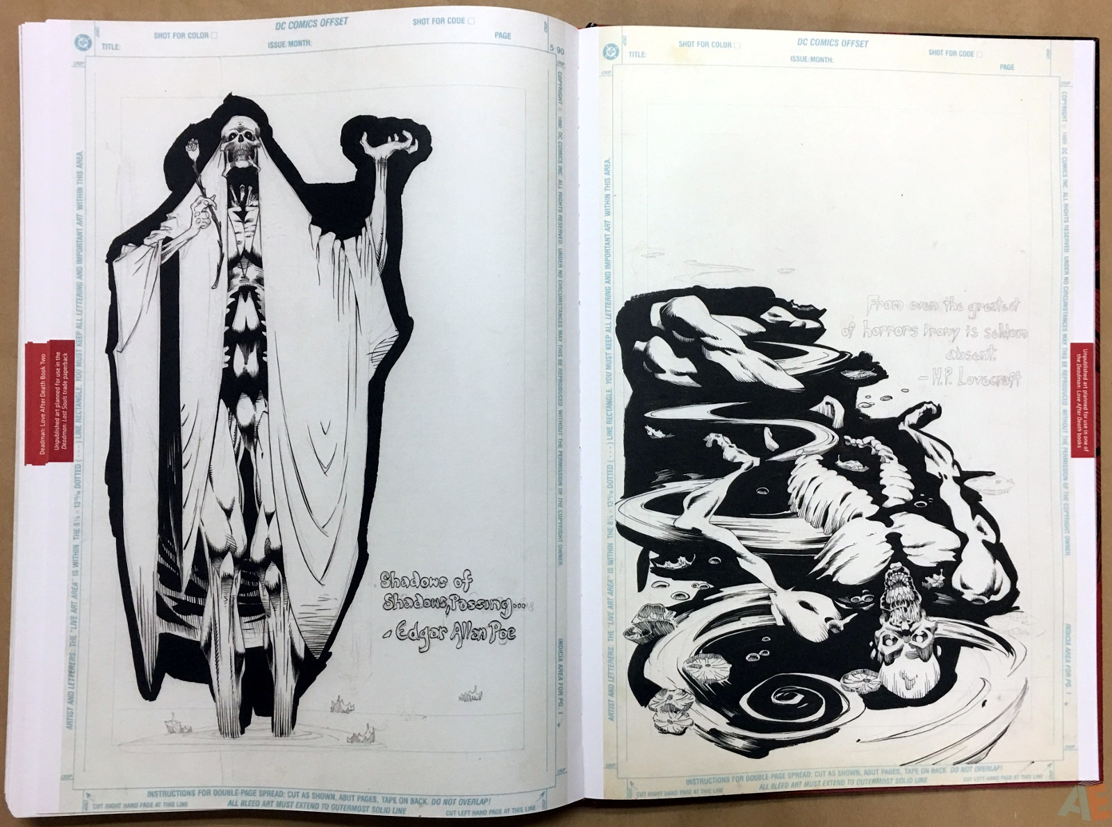 Deadman: Kelley Jones Gallery Edition 58