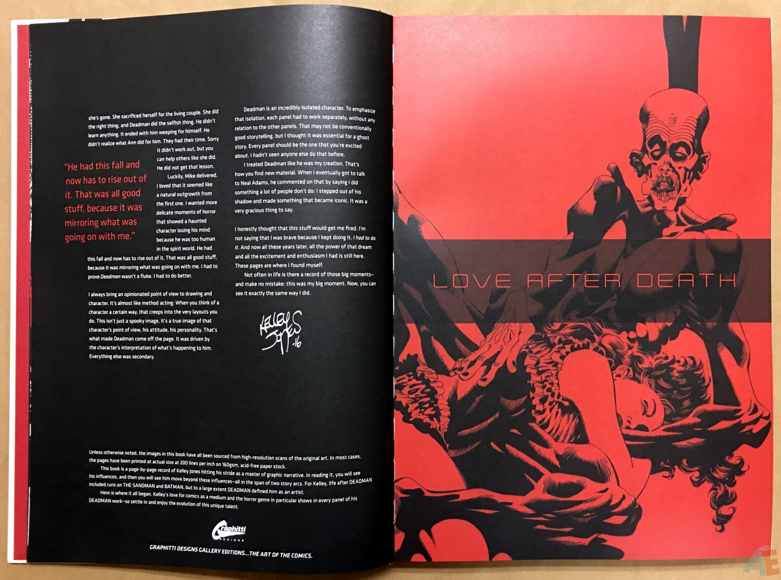 Deadman: Kelley Jones Gallery Edition 8