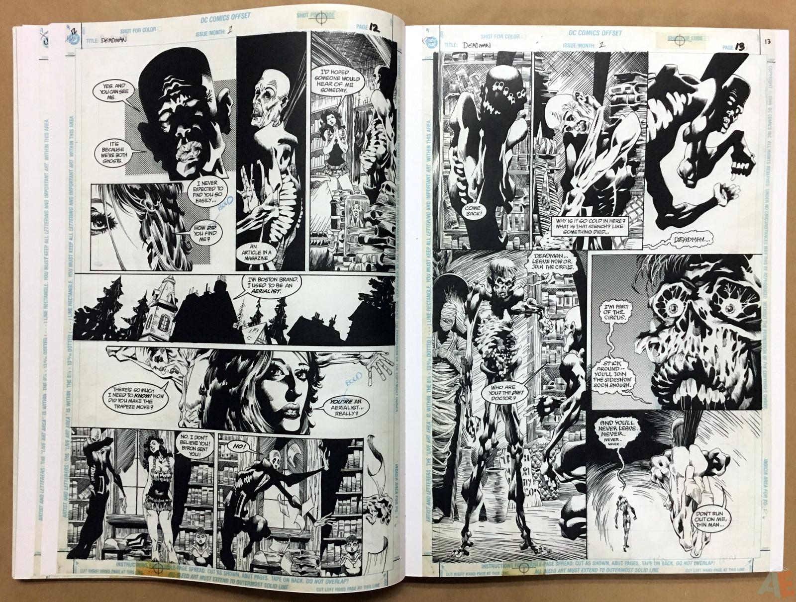 Deadman: Kelley Jones Gallery Edition 14