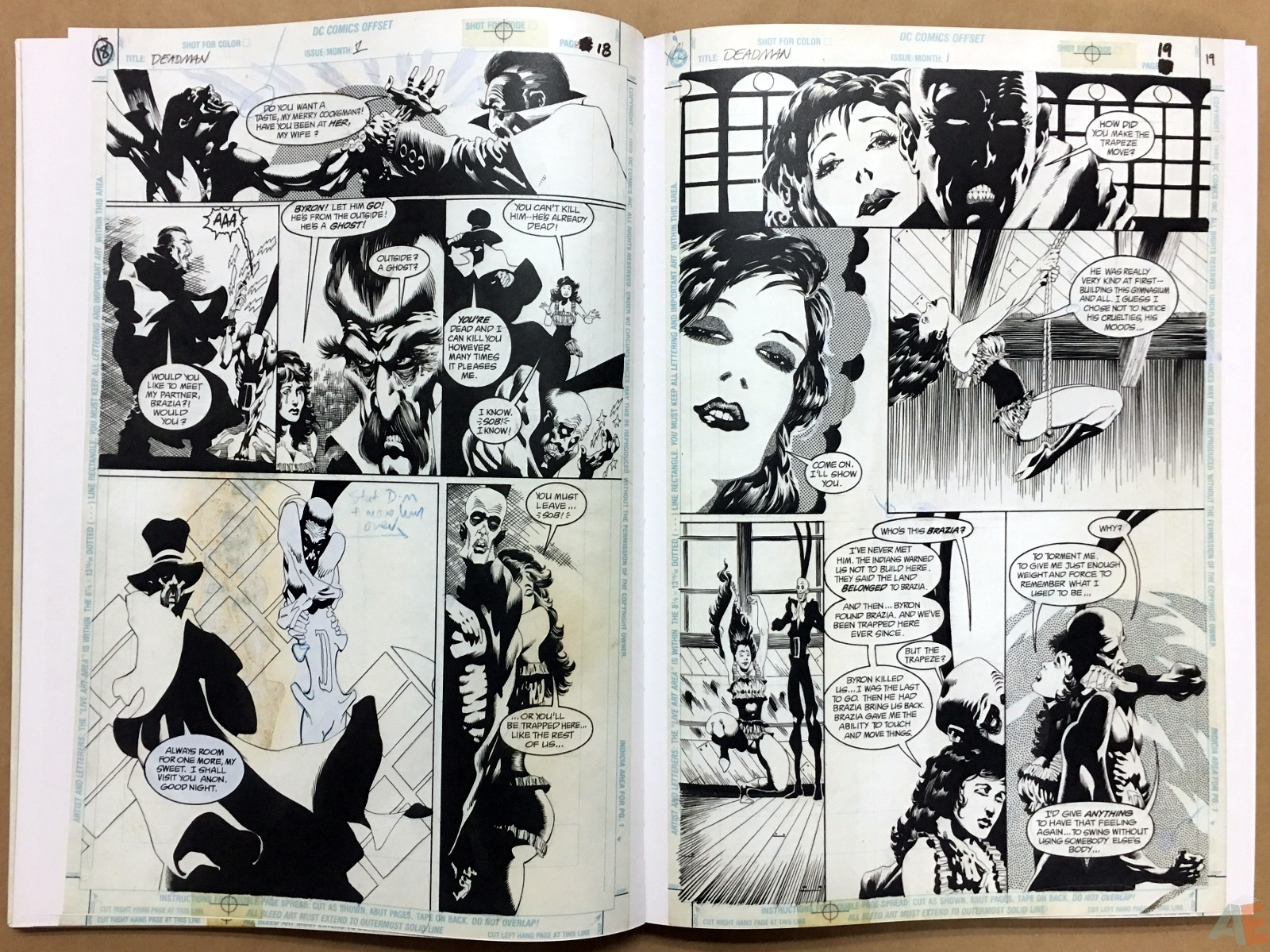 Deadman: Kelley Jones Gallery Edition 16