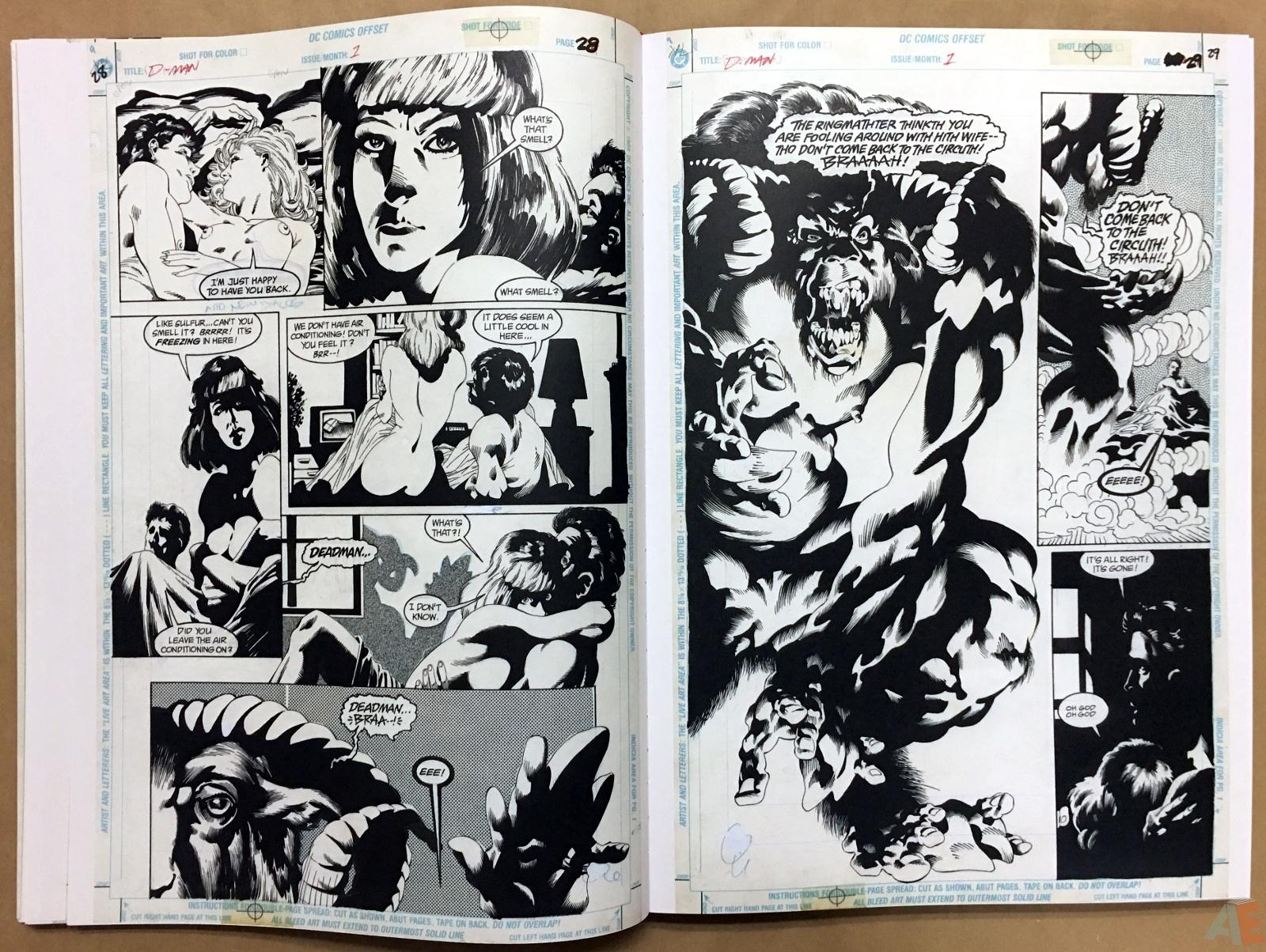 Deadman: Kelley Jones Gallery Edition 18
