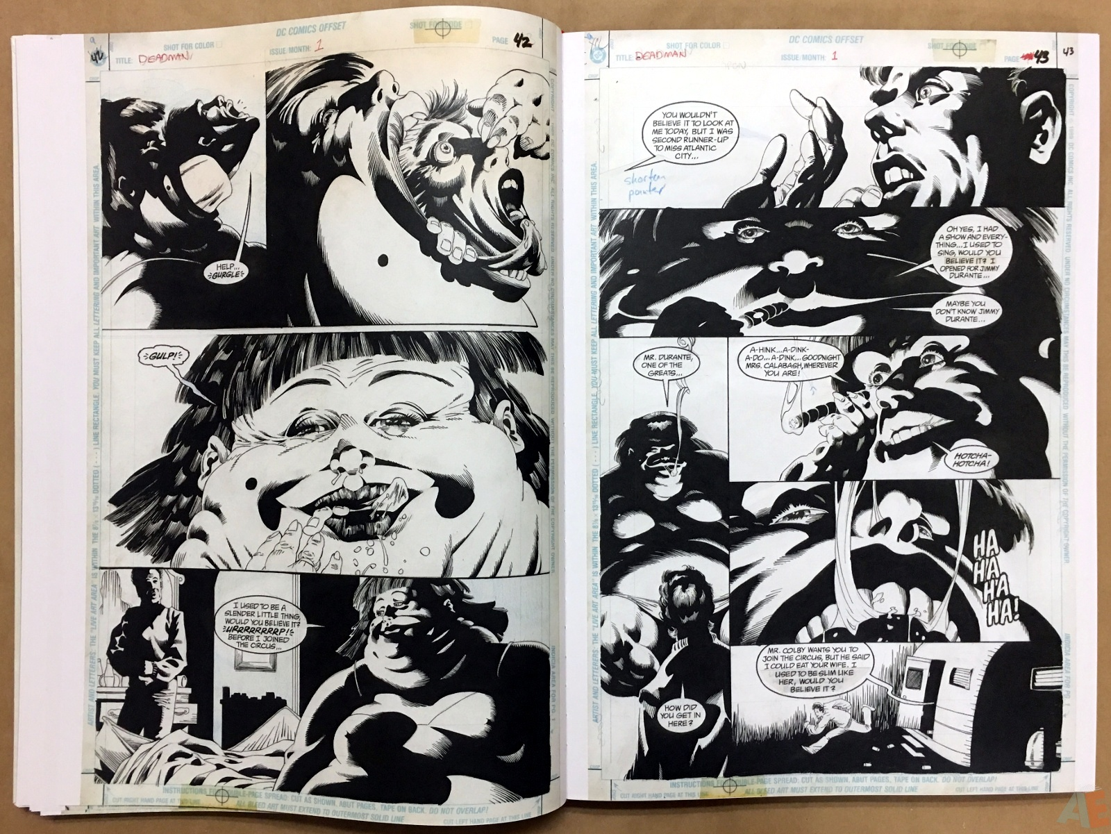 Deadman: Kelley Jones Gallery Edition 20