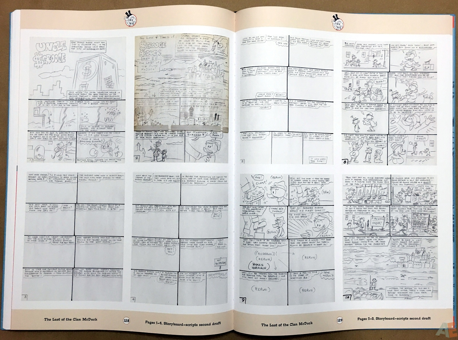 Don Rosa's The Life and Times of Scrooge McDuck Artist's Edition, Volume One 38