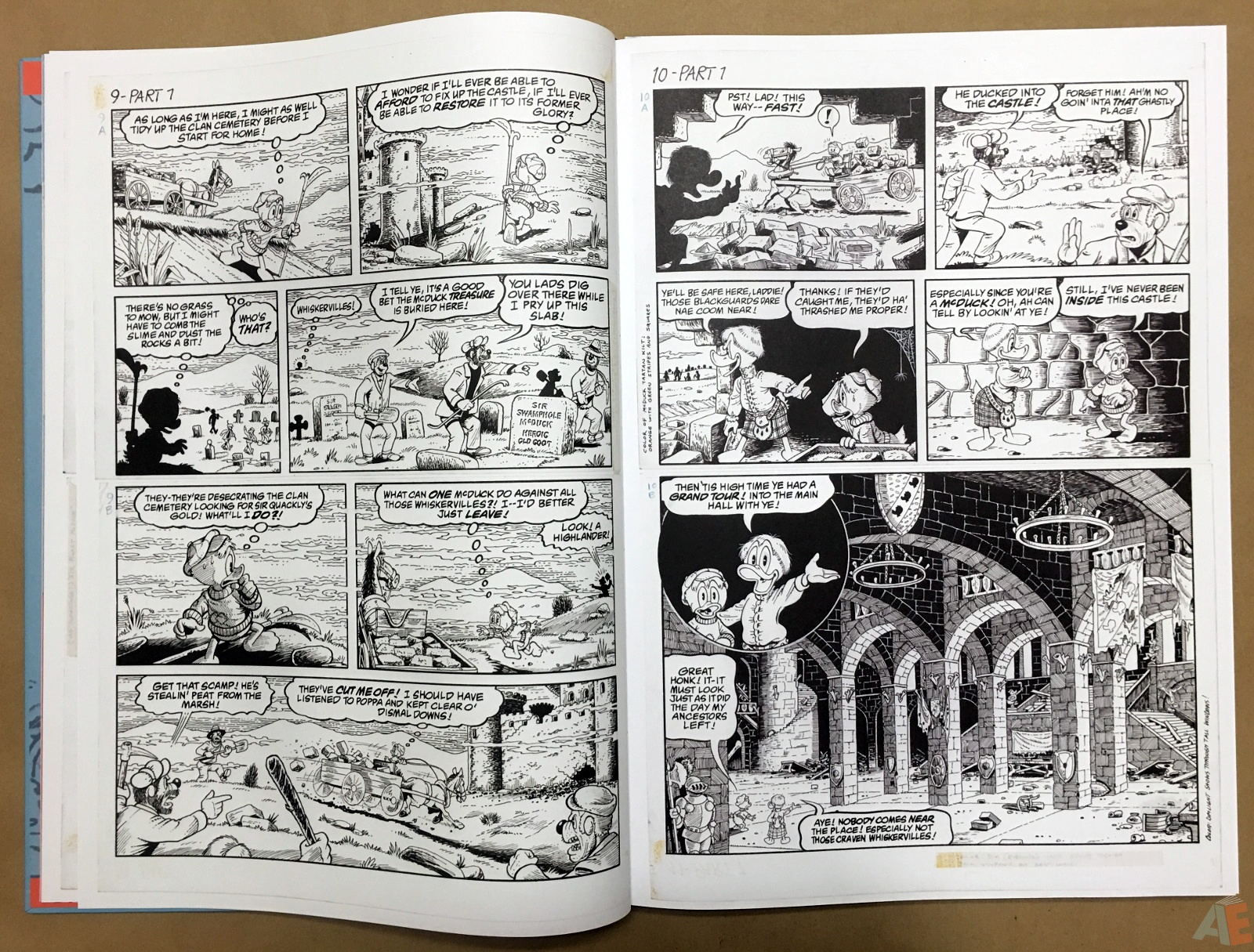 Don Rosa's The Life and Times of Scrooge McDuck Artist's Edition, Volume One 10