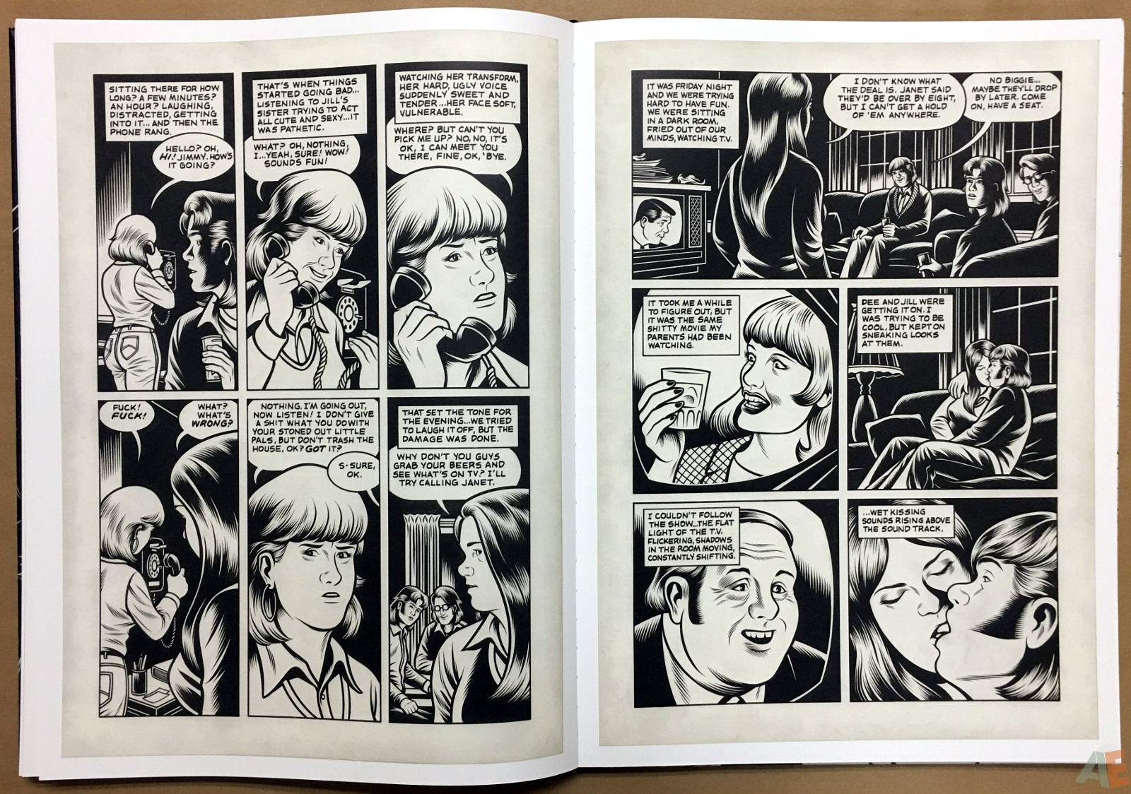 Fantagraphics Studio Edition: Black Hole By Charles Burns 26