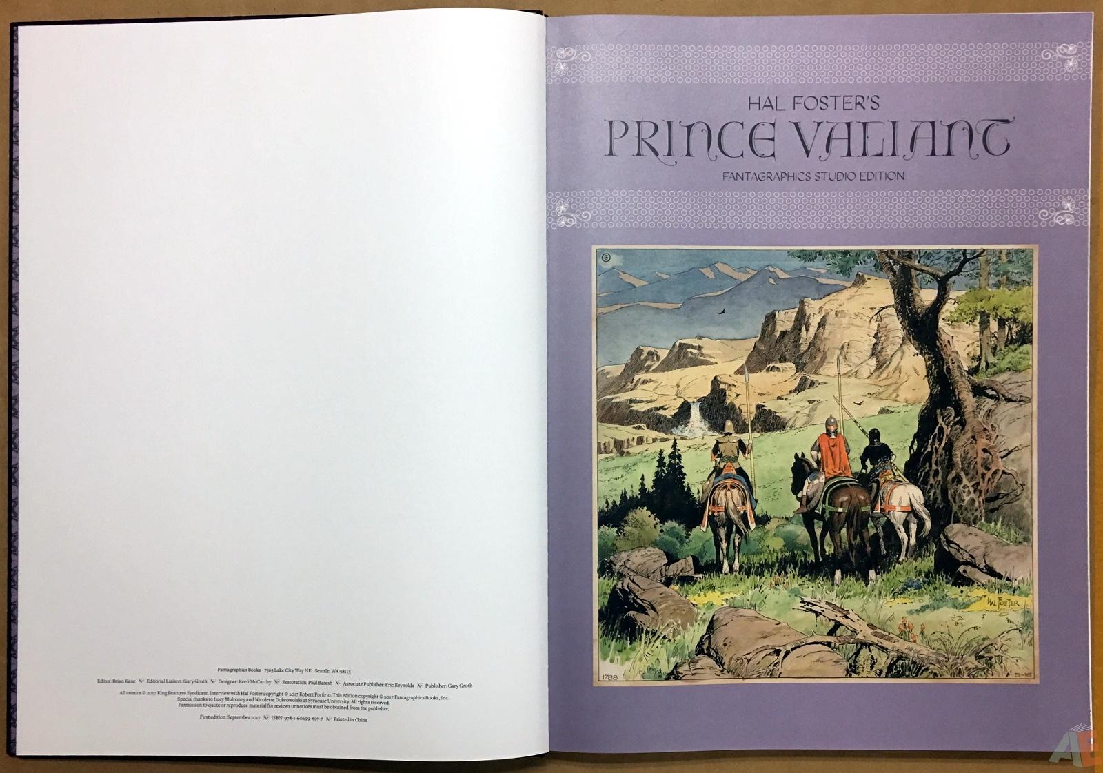 Fantagraphics Studio Edition: Hal Foster's Prince Valiant 4