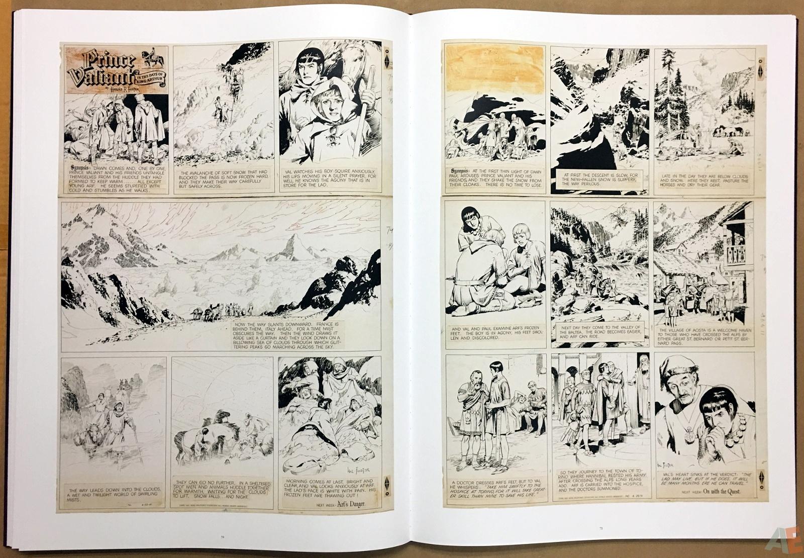 Fantagraphics Studio Edition: Hal Foster's Prince Valiant 24