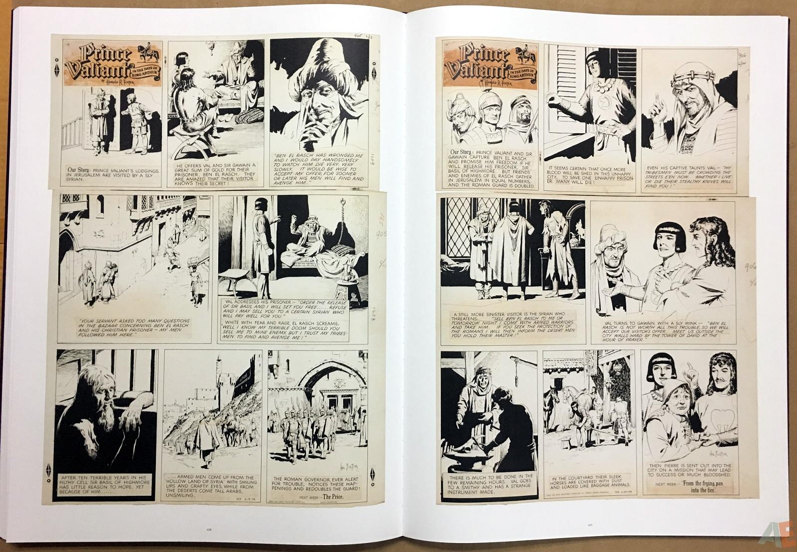 Fantagraphics Studio Edition: Hal Foster's Prince Valiant 28