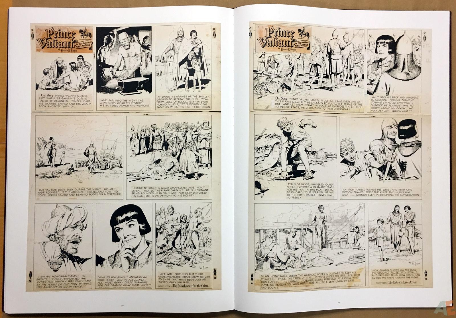 Fantagraphics Studio Edition: Hal Foster's Prince Valiant 32