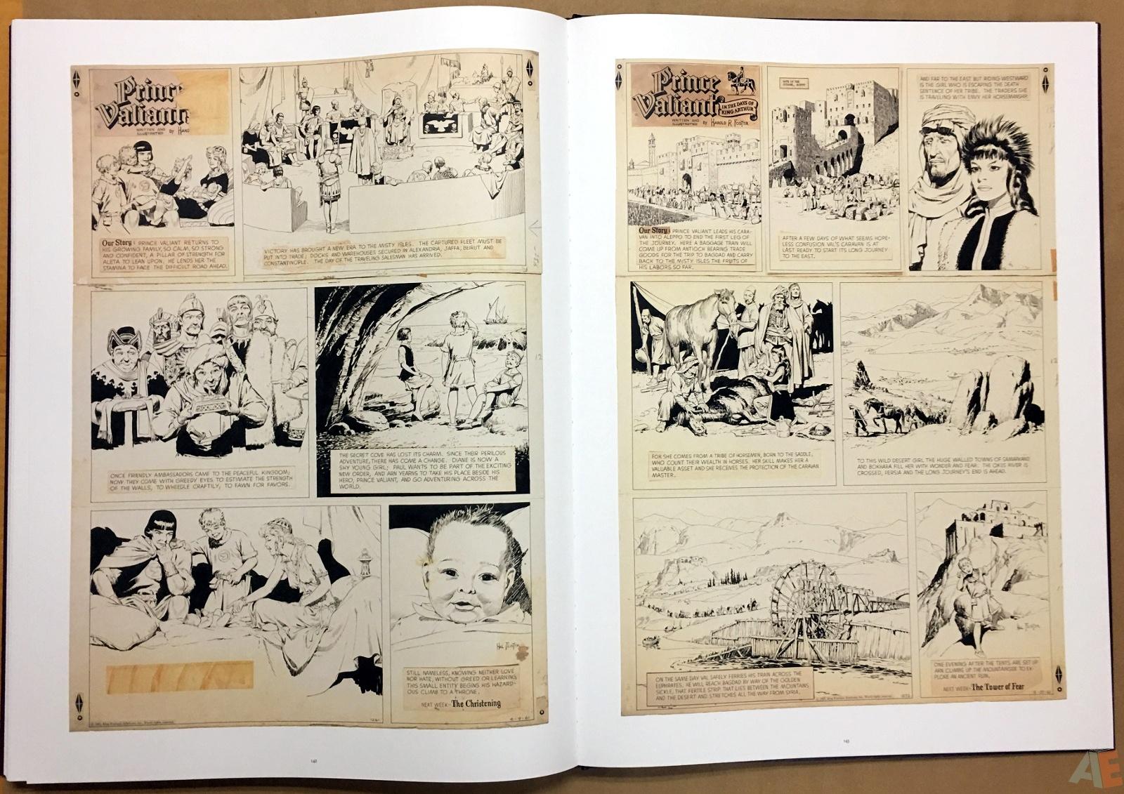 Fantagraphics Studio Edition: Hal Foster's Prince Valiant 34