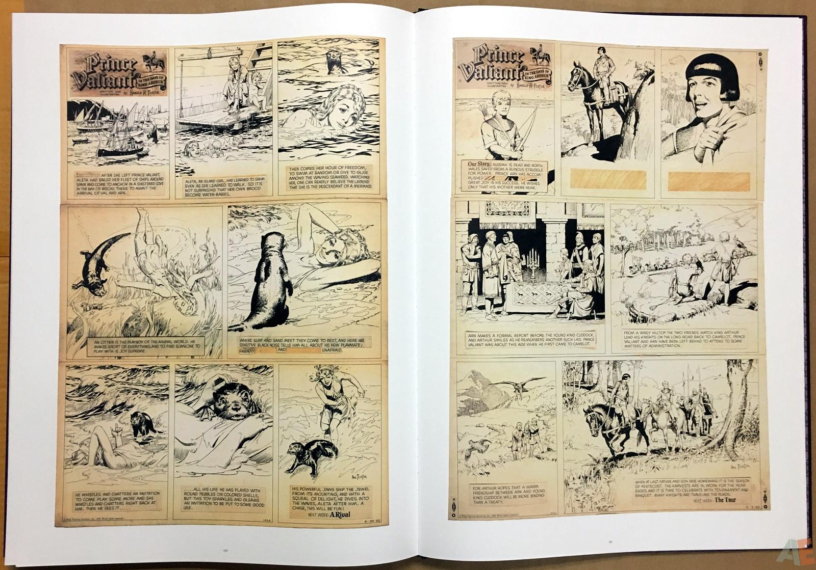 Fantagraphics Studio Edition: Hal Foster's Prince Valiant 36