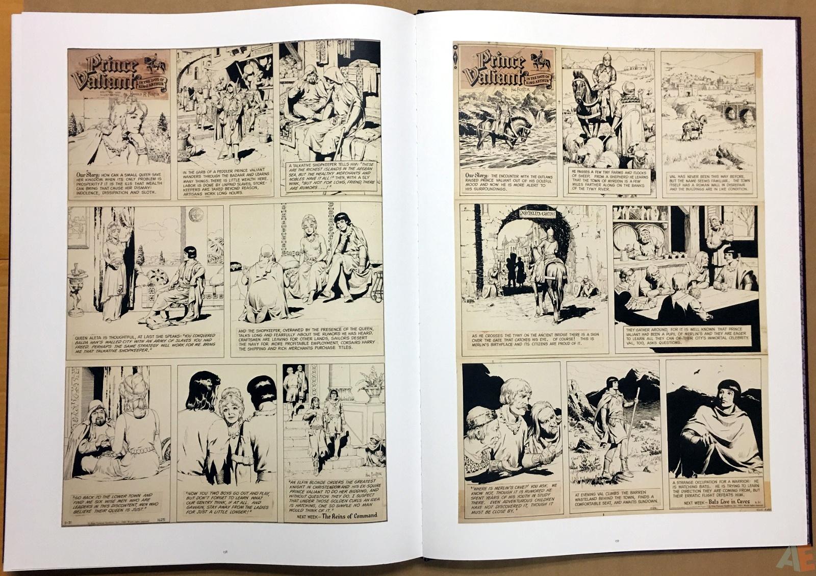 Fantagraphics Studio Edition: Hal Foster's Prince Valiant 38