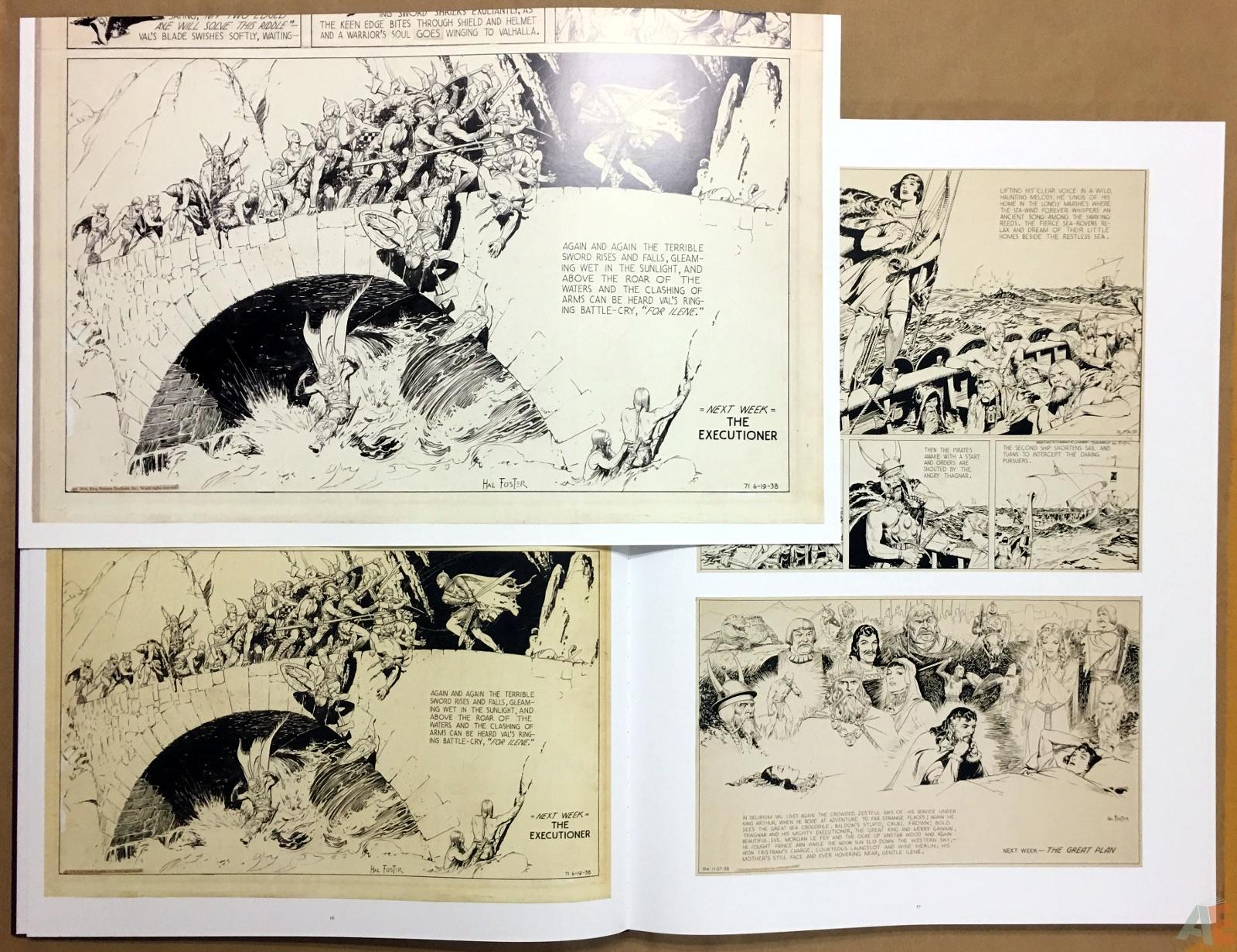 Fantagraphics Studio Edition: Hal Foster's Prince Valiant 16