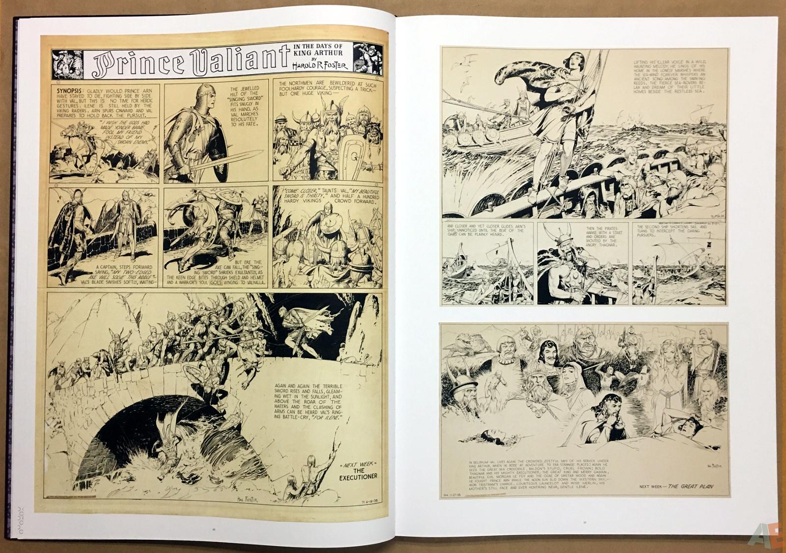 Fantagraphics Studio Edition: Hal Foster's Prince Valiant 10