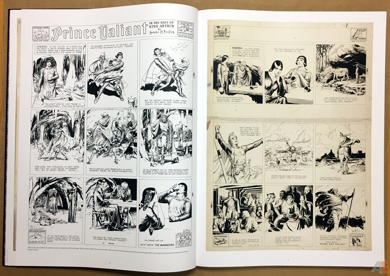 Fantagraphics Studio Edition: Hal Foster's Prince Valiant 12
