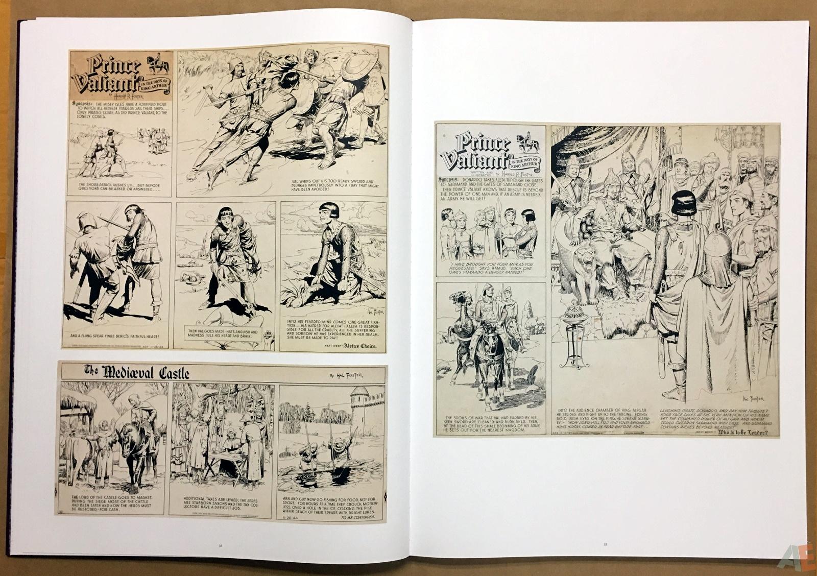 Fantagraphics Studio Edition: Hal Foster's Prince Valiant 18