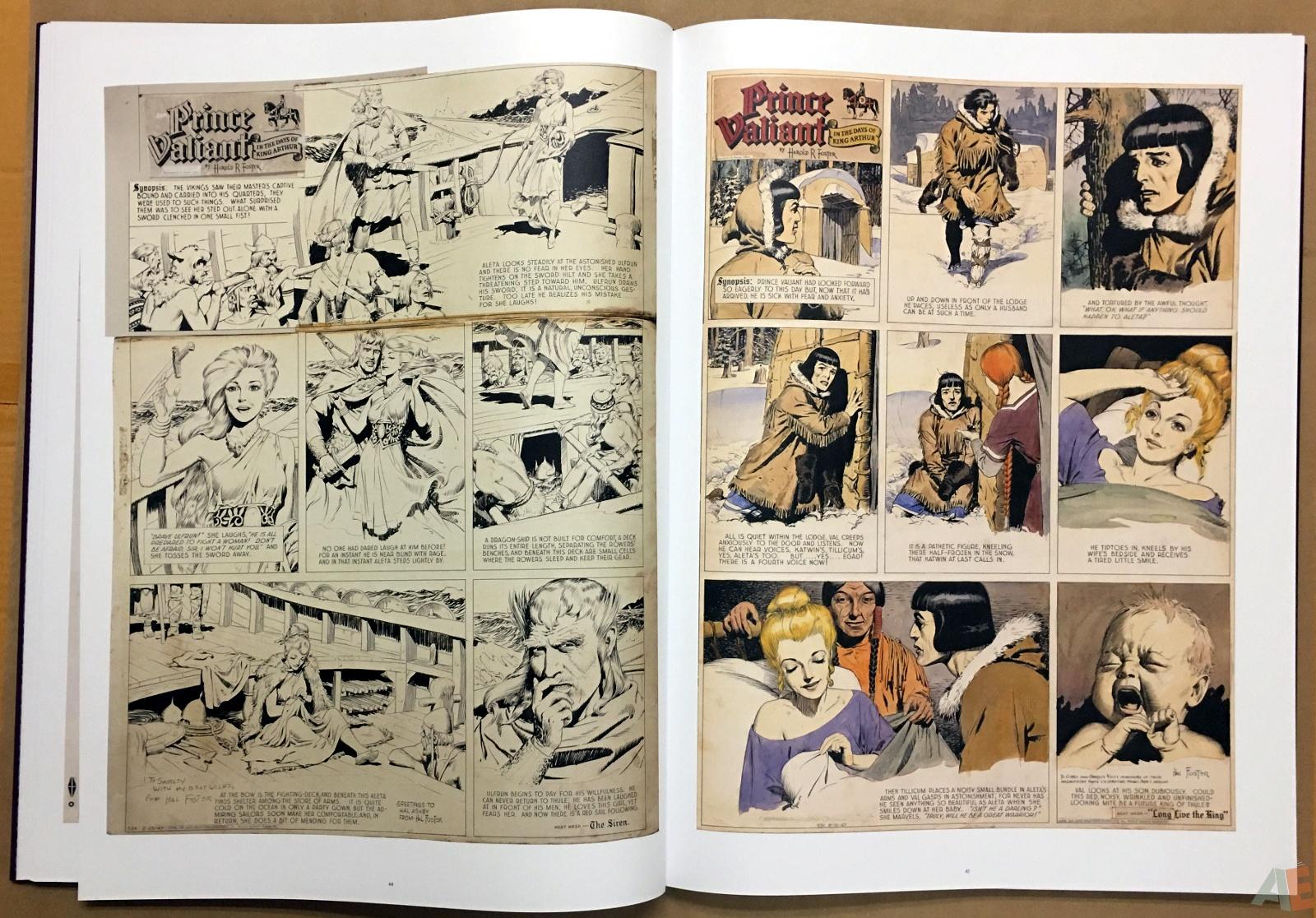 Fantagraphics Studio Edition: Hal Foster's Prince Valiant 20