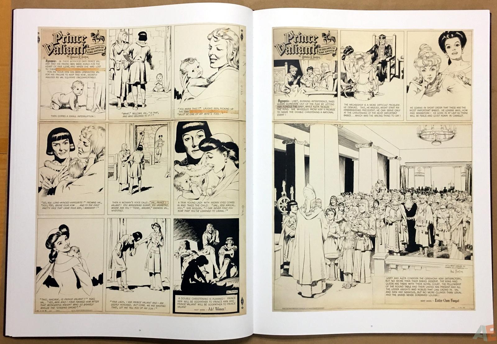 Fantagraphics Studio Edition: Hal Foster's Prince Valiant 22