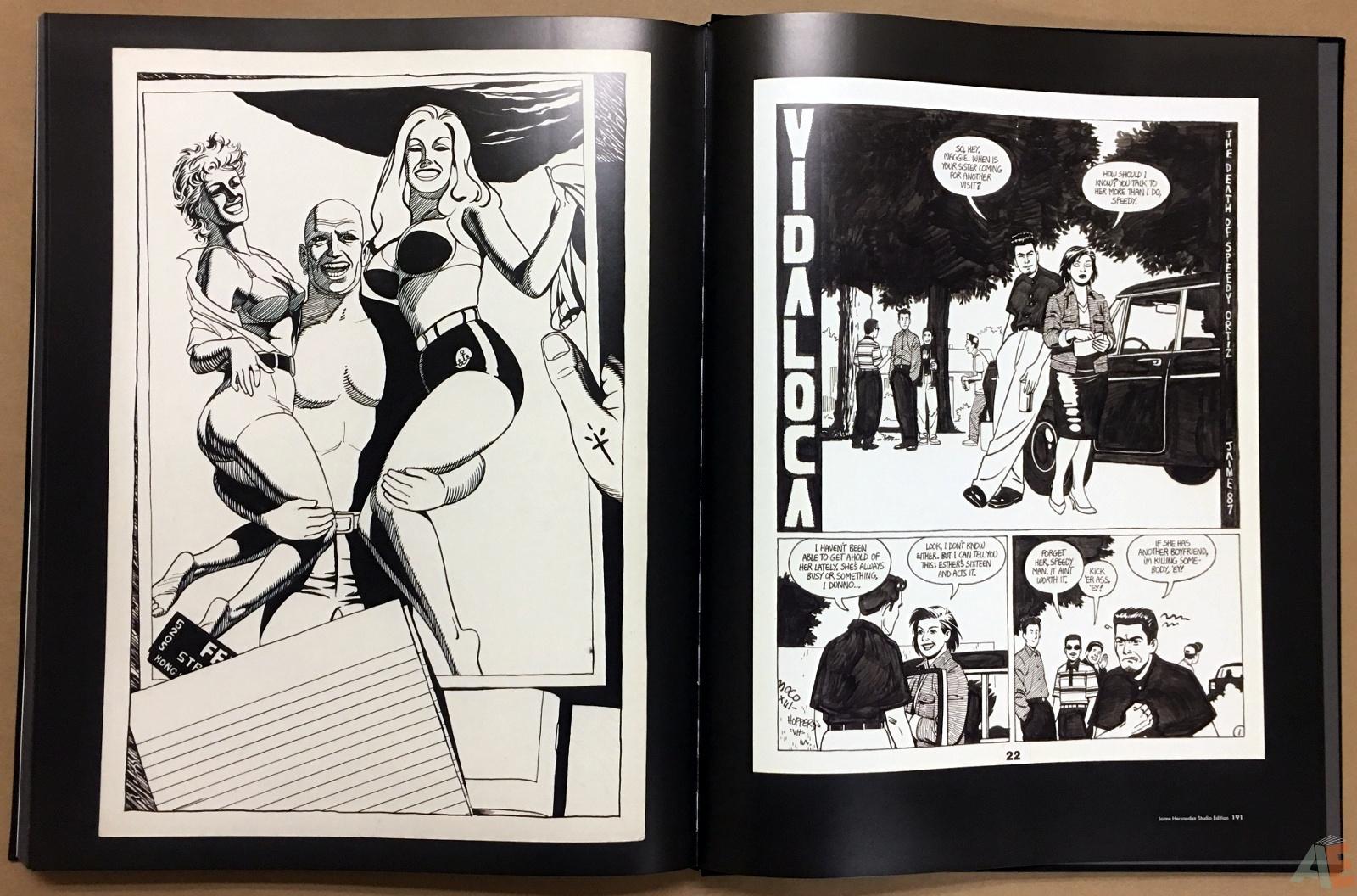 Fantagraphics Studio Edition: Jaime Hernandez 52