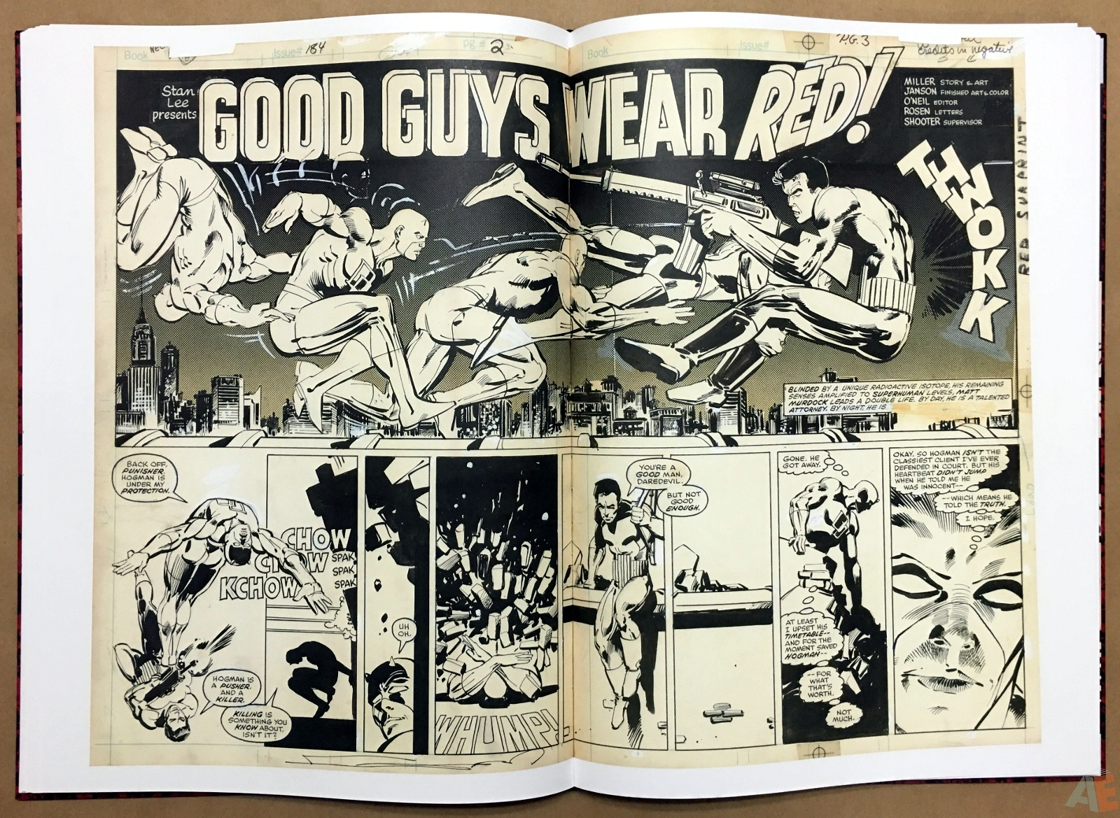 Frank Miller's Daredevil Artifact Edition 23