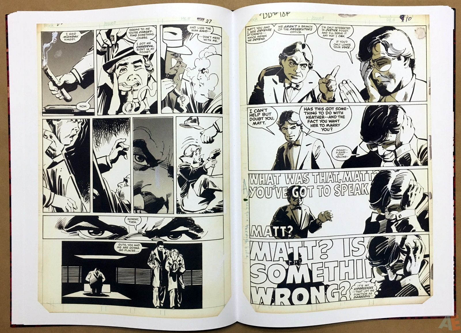 Frank Miller's Daredevil Artifact Edition 25