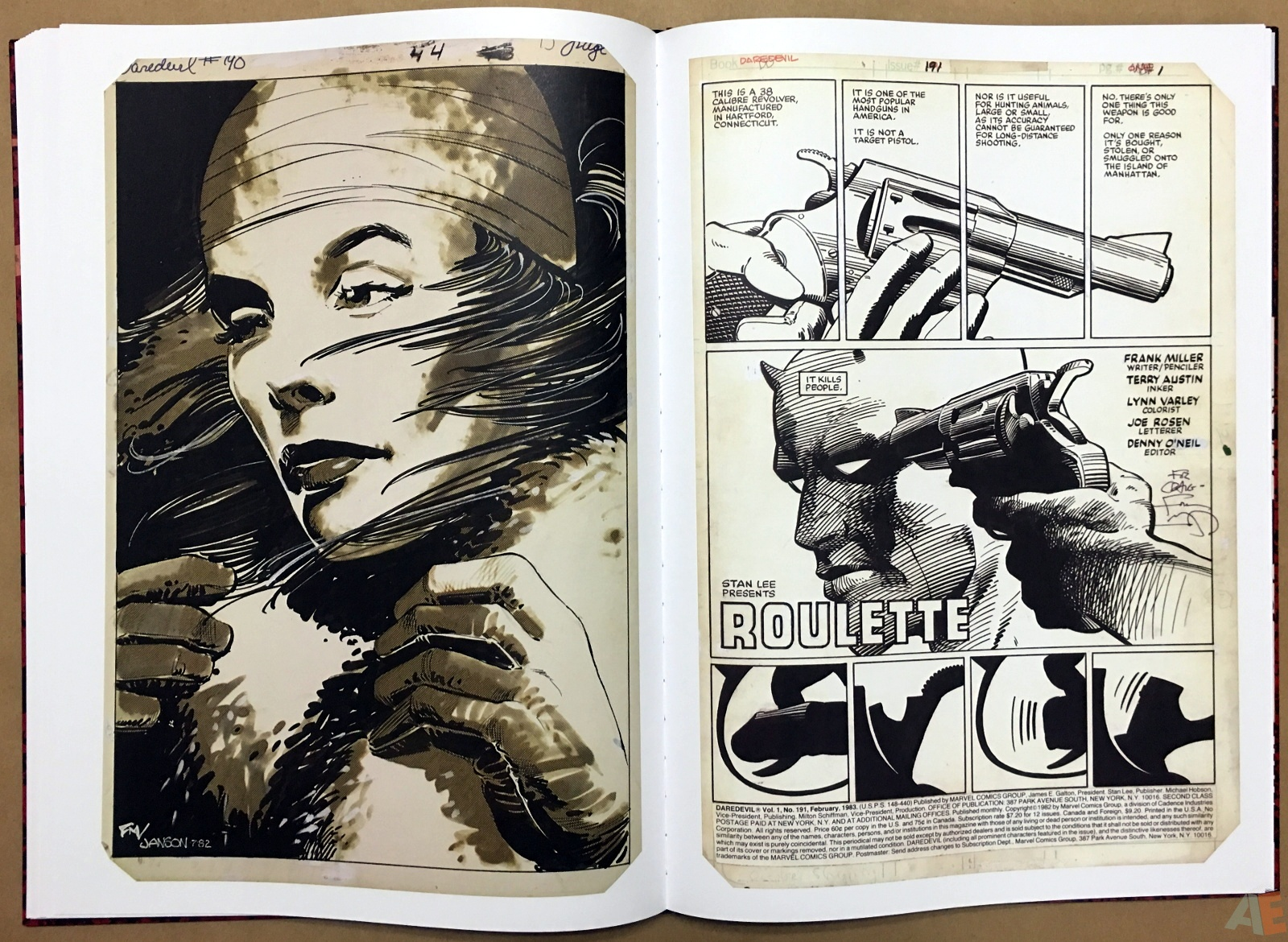 Frank Miller's Daredevil Artifact Edition 27