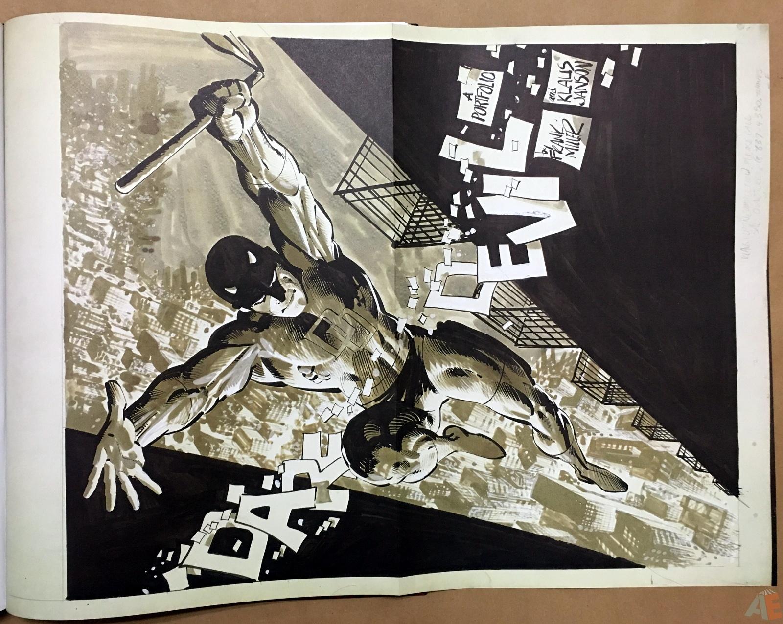 Frank Miller's Daredevil Artifact Edition 29