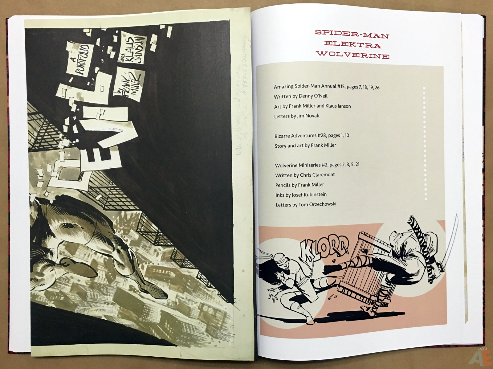 Frank Miller's Daredevil Artifact Edition 31