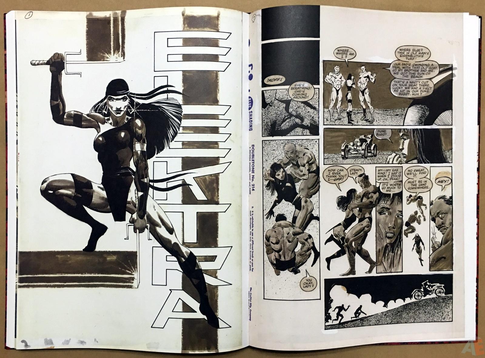Frank Miller's Daredevil Artifact Edition 33
