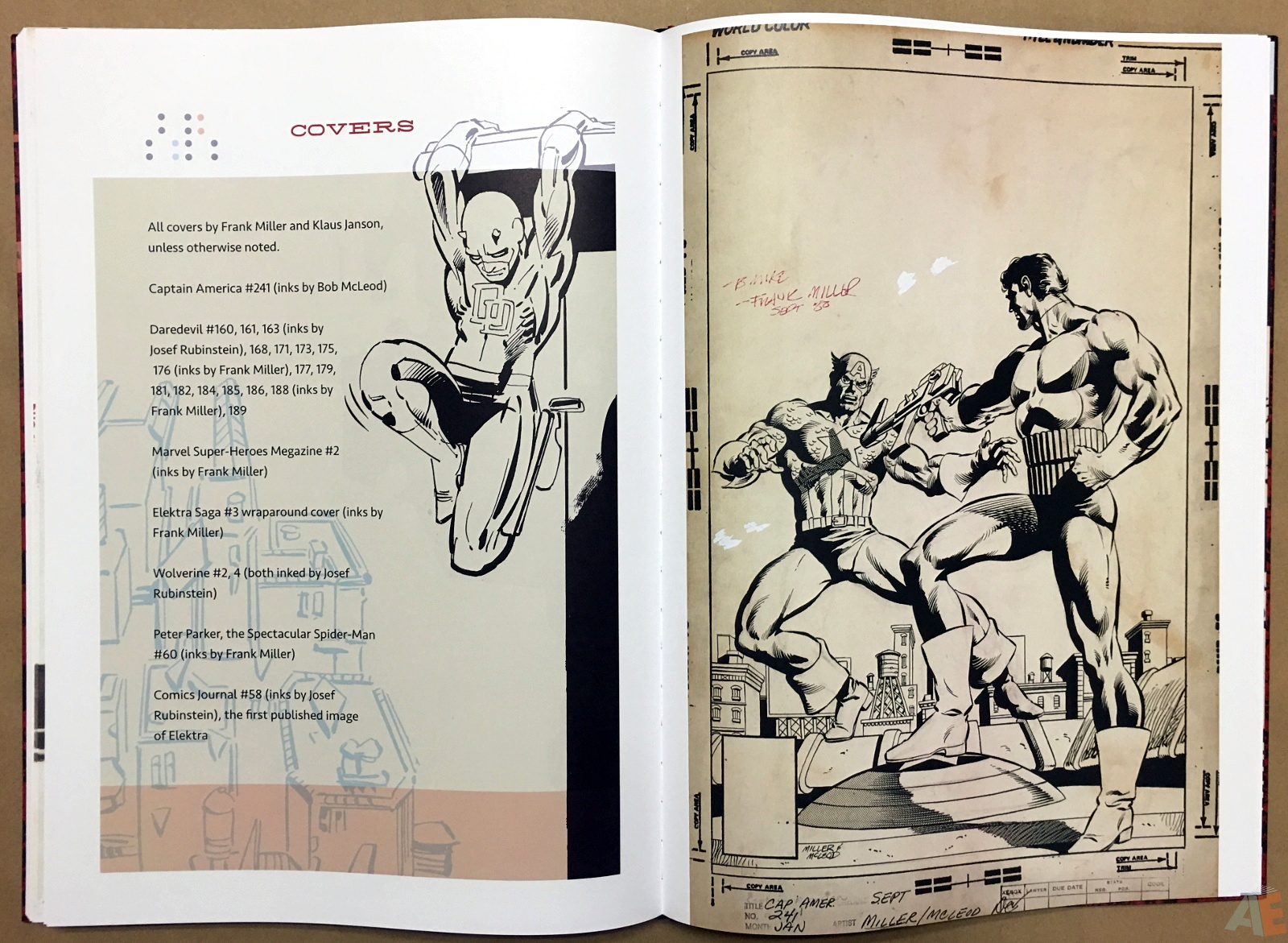 Frank Miller's Daredevil Artifact Edition 37