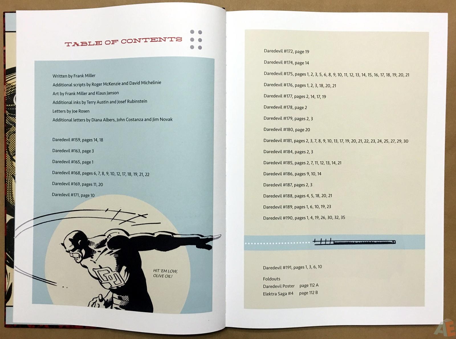 Frank Miller's Daredevil Artifact Edition 5