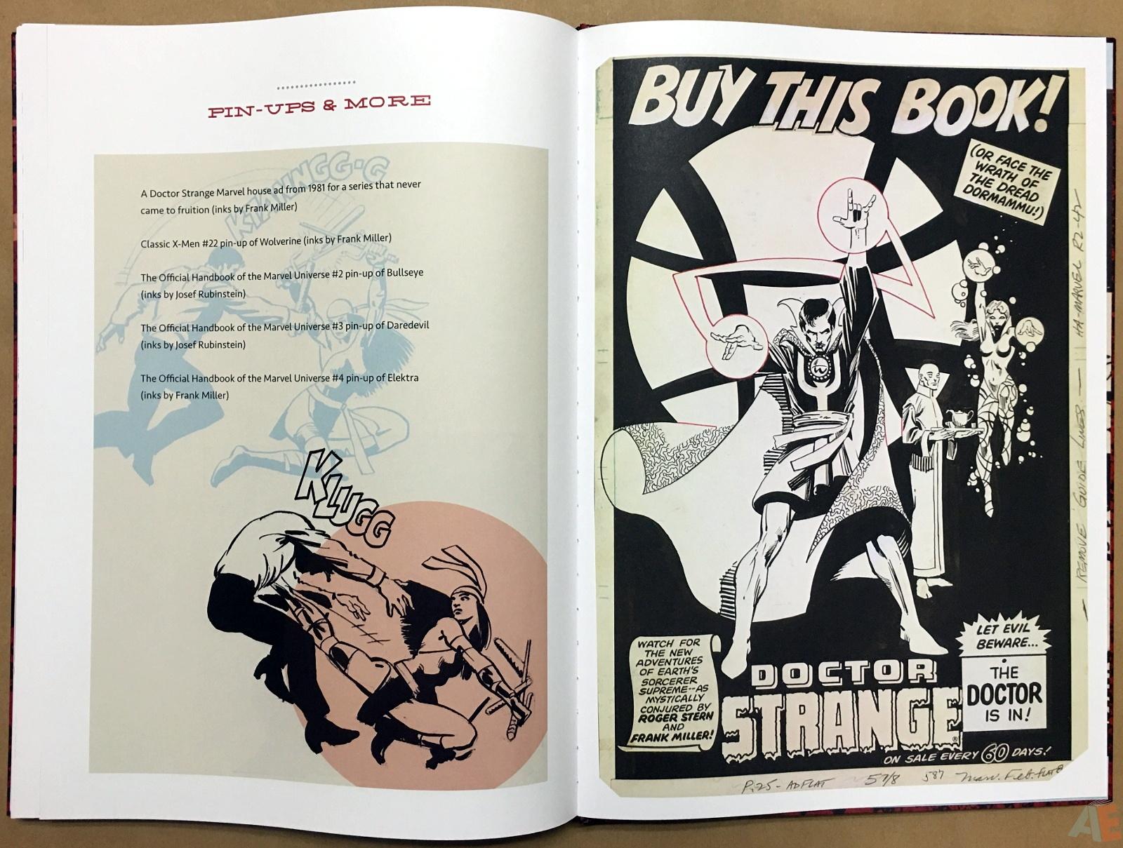 Frank Miller's Daredevil Artifact Edition 43