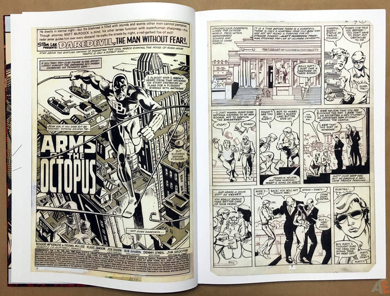 Frank Miller's Daredevil Artifact Edition 7