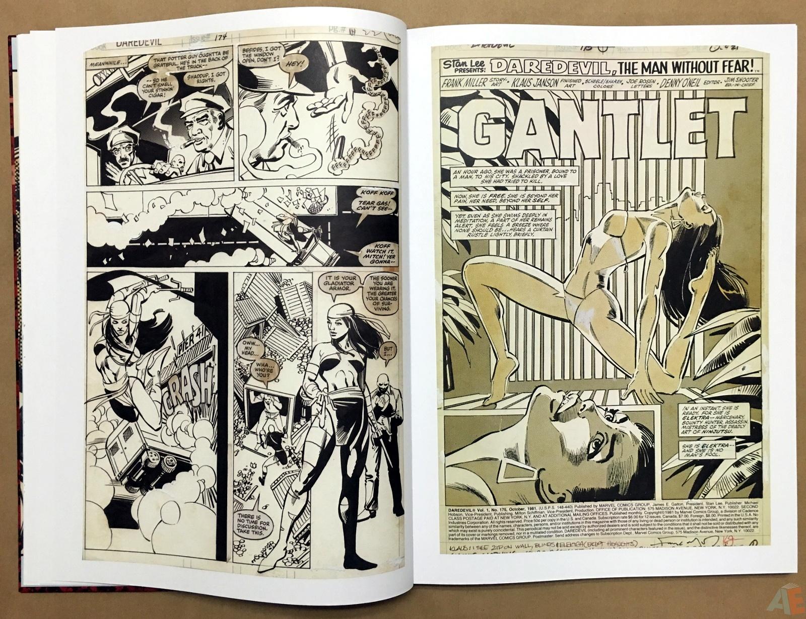 Frank Miller's Daredevil Artifact Edition 11