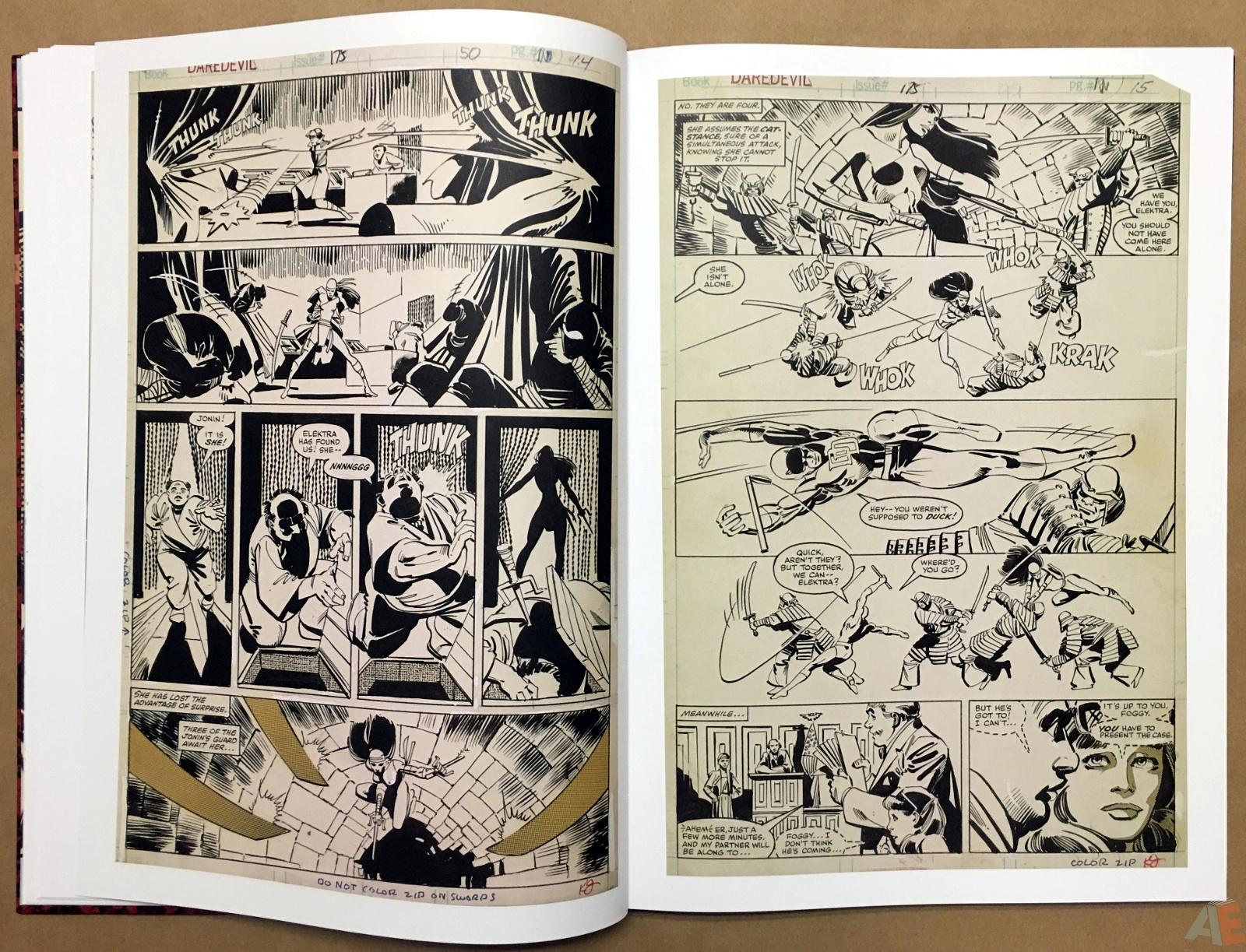 Frank Miller's Daredevil Artifact Edition 15