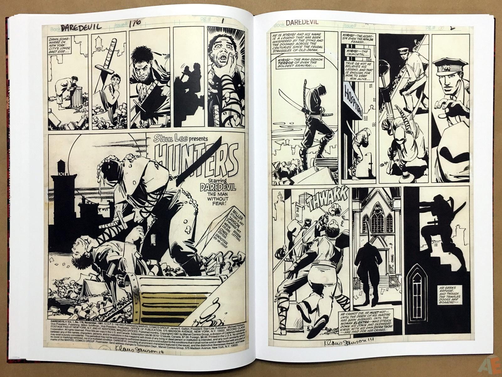 Frank Miller's Daredevil Artifact Edition 17