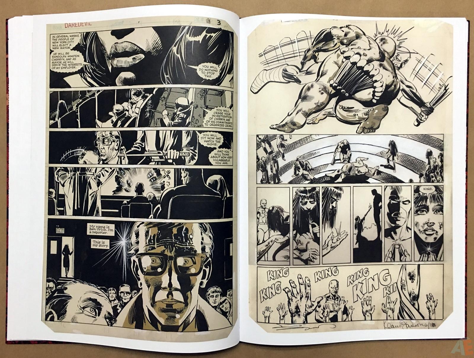 Frank Miller's Daredevil Artifact Edition 19