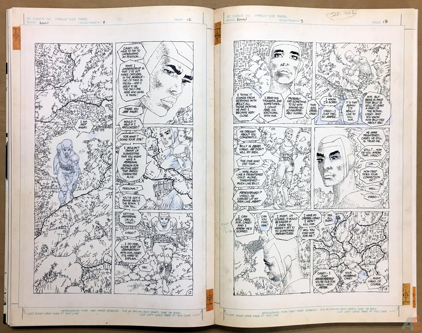Frank Miller's Ronin Gallery Edition 26
