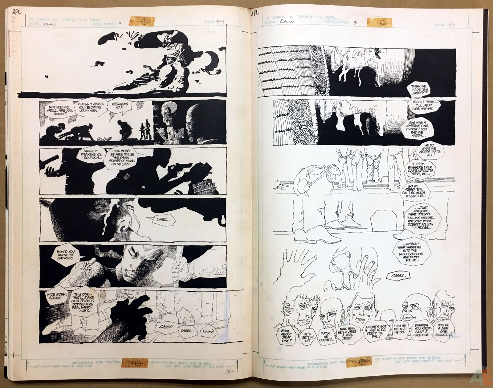 Frank Miller's Ronin Gallery Edition 30