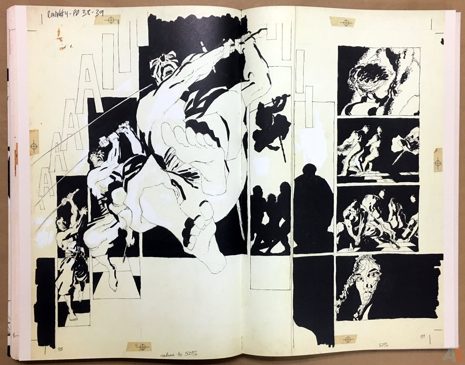 Frank Miller's Ronin Gallery Edition 34