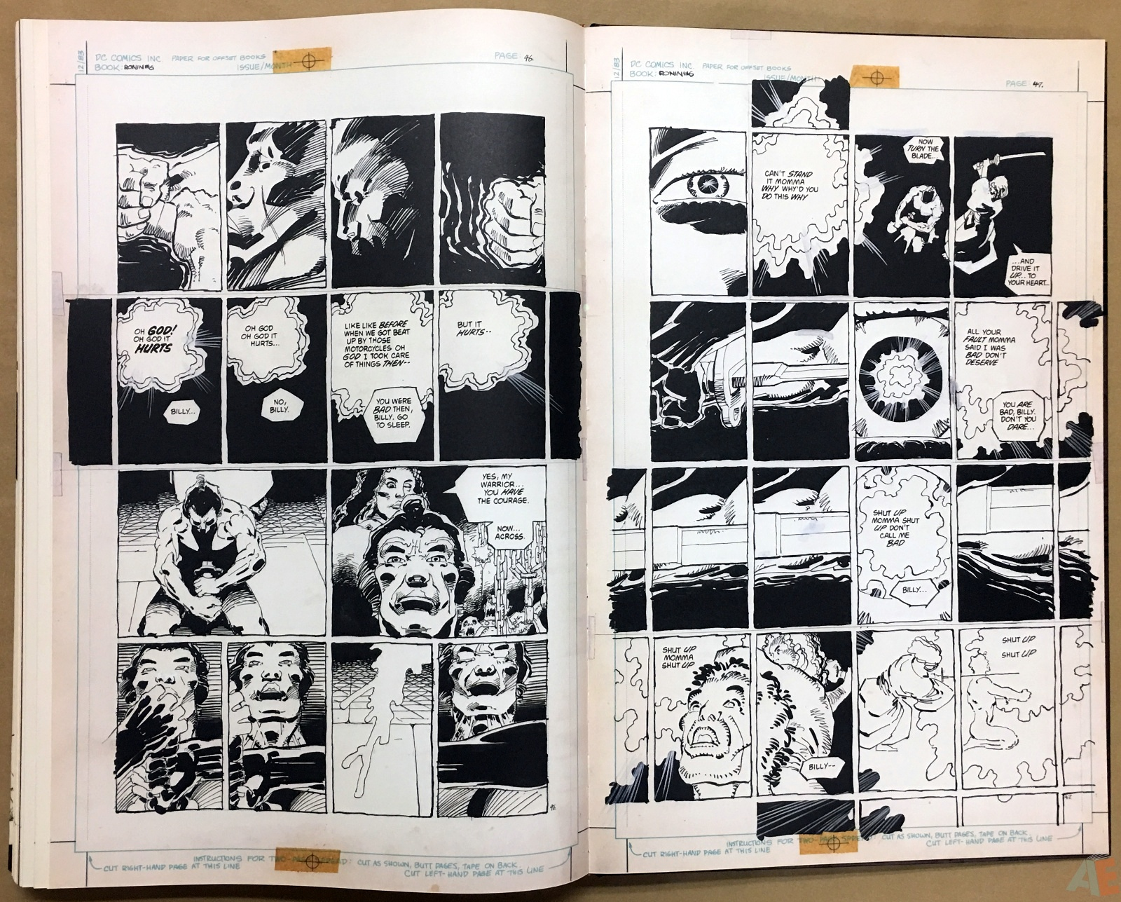 Frank Miller's Ronin Gallery Edition 48