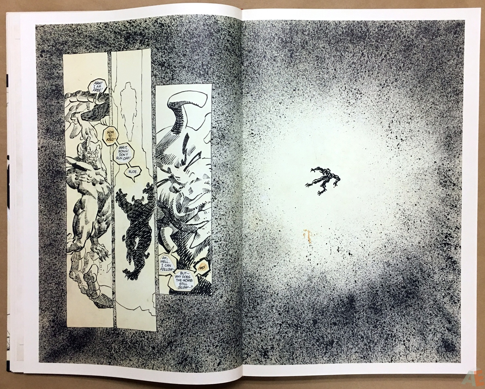 Frank Miller's Ronin Gallery Edition 14