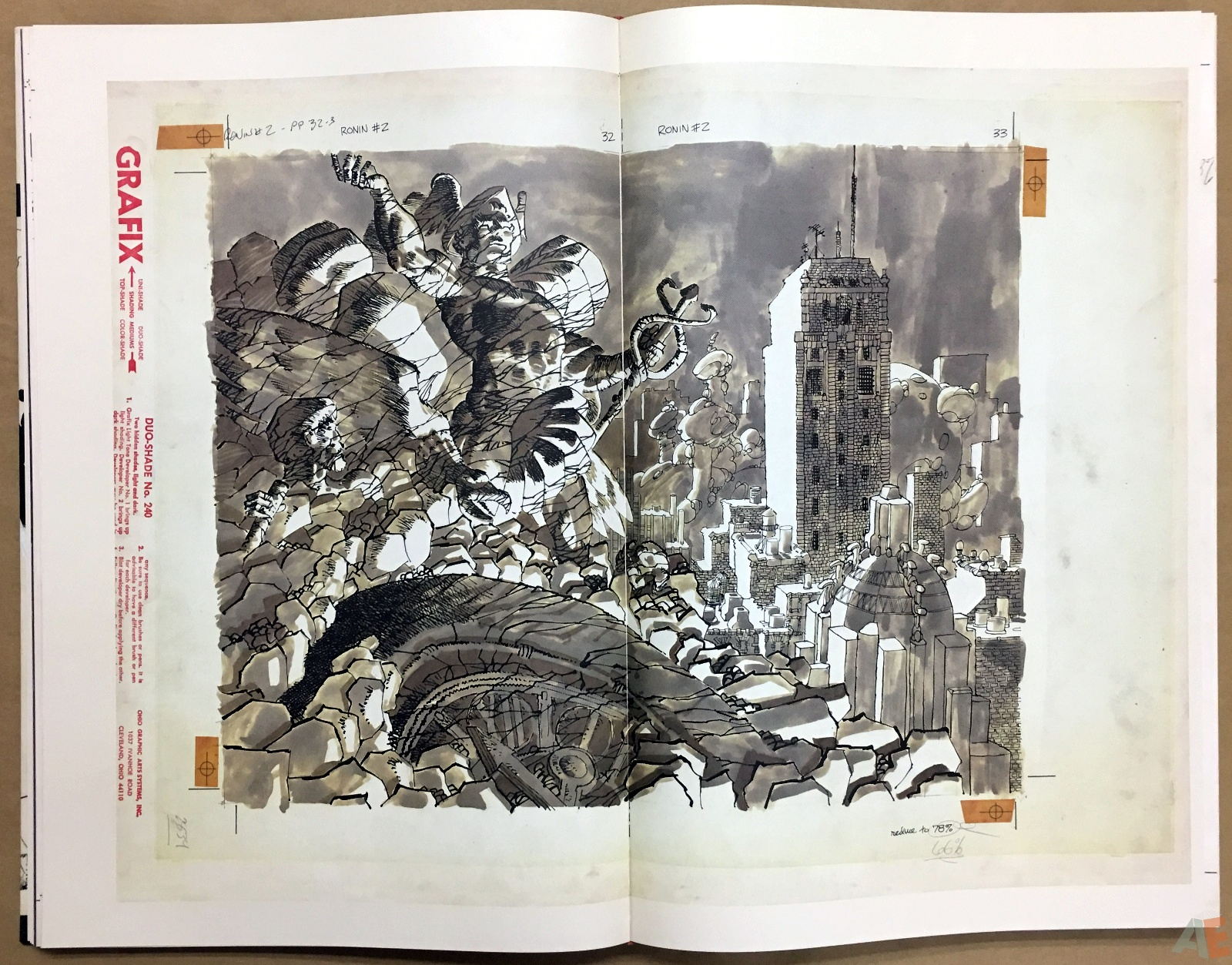 Frank Miller's Ronin Gallery Edition 20