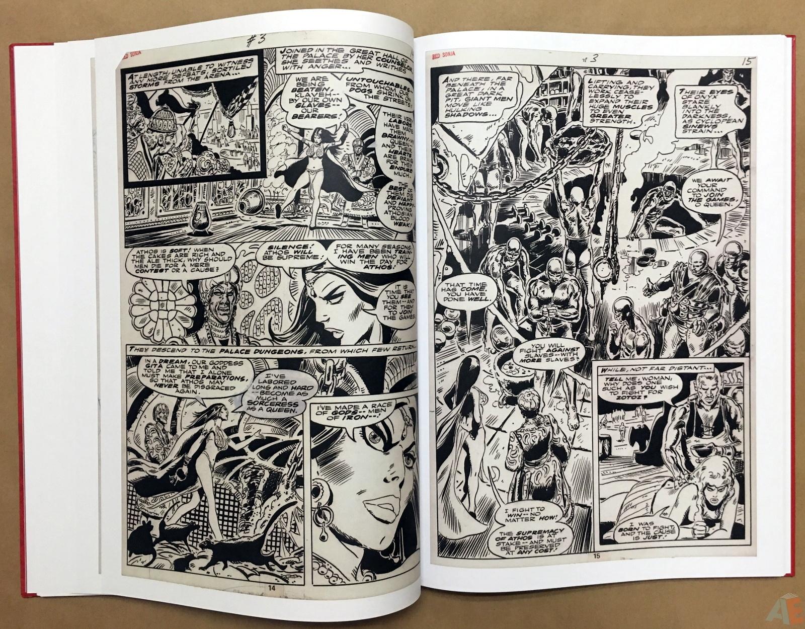 Frank Thorne's Red Sonja Art Edition Volume 2