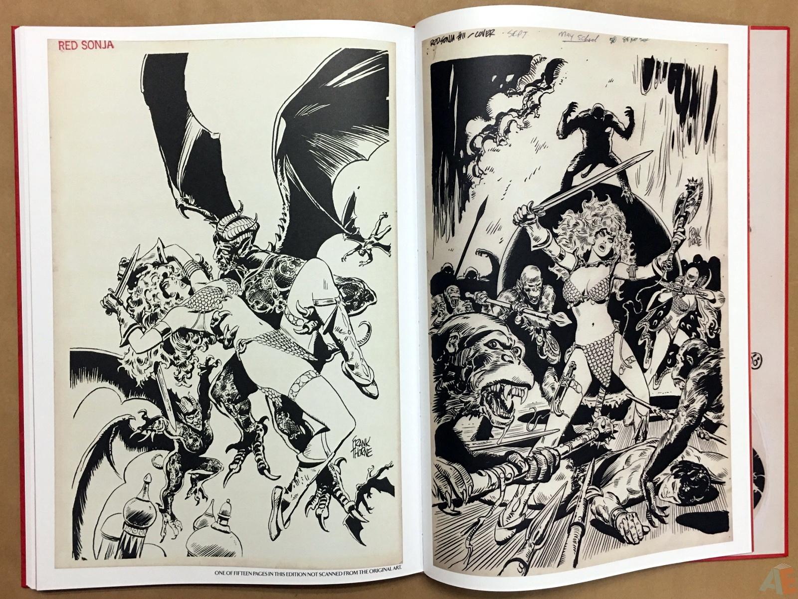 Frank Thorne's Red Sonja Art Edition Volume 3