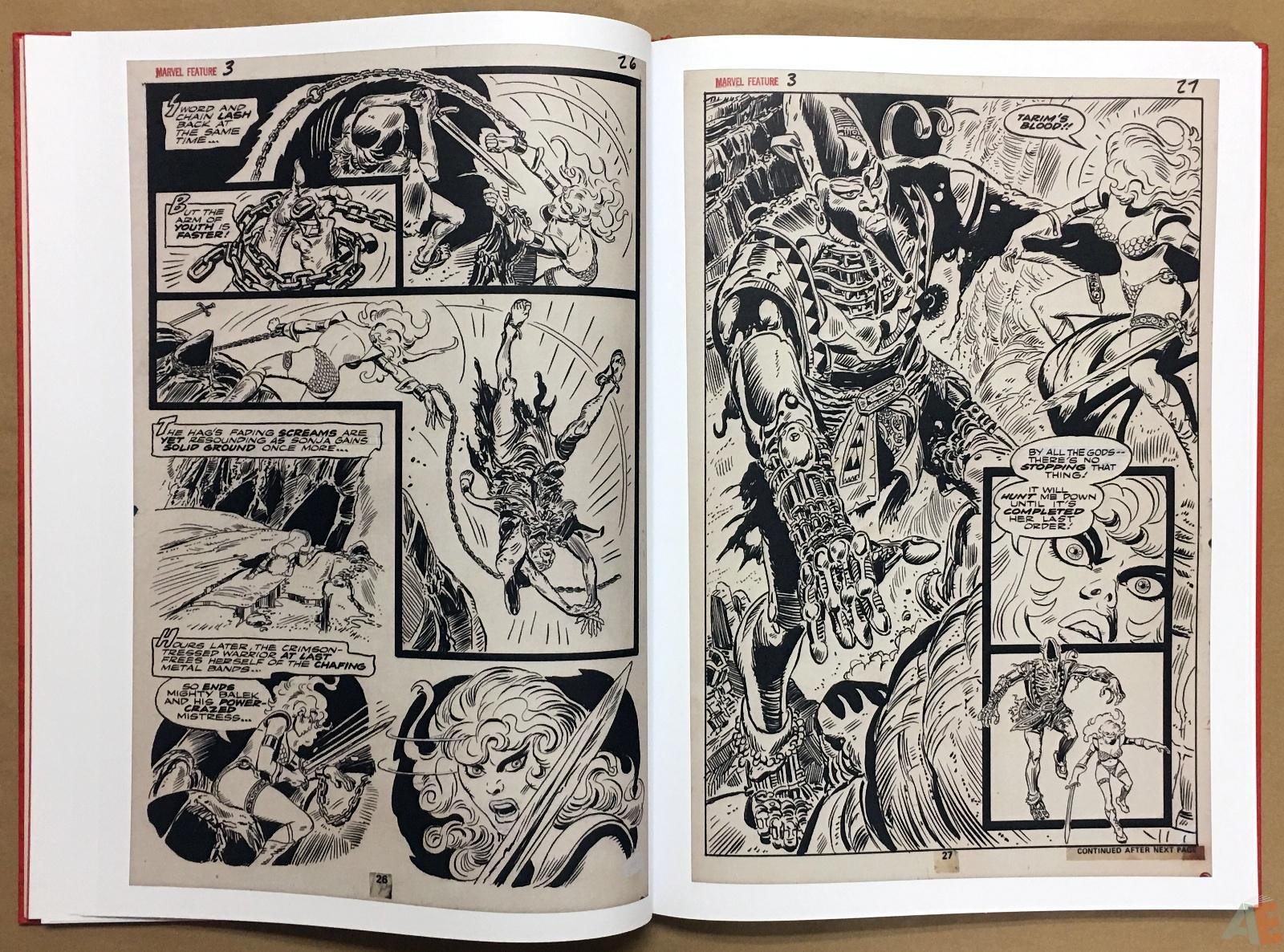 Frank Thorne's Red Sonja Art Edition Volume 1