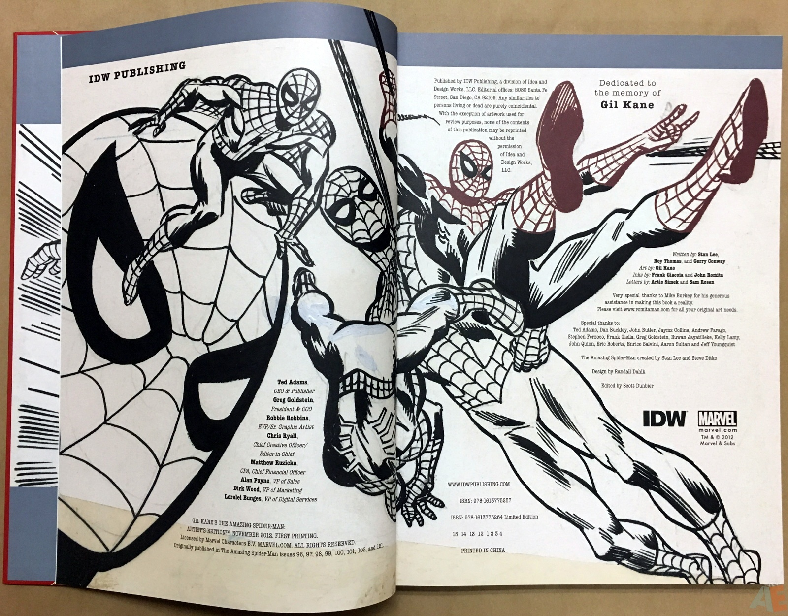 Gil Kane's The Amazing Spider-Man Artist's Edition 4