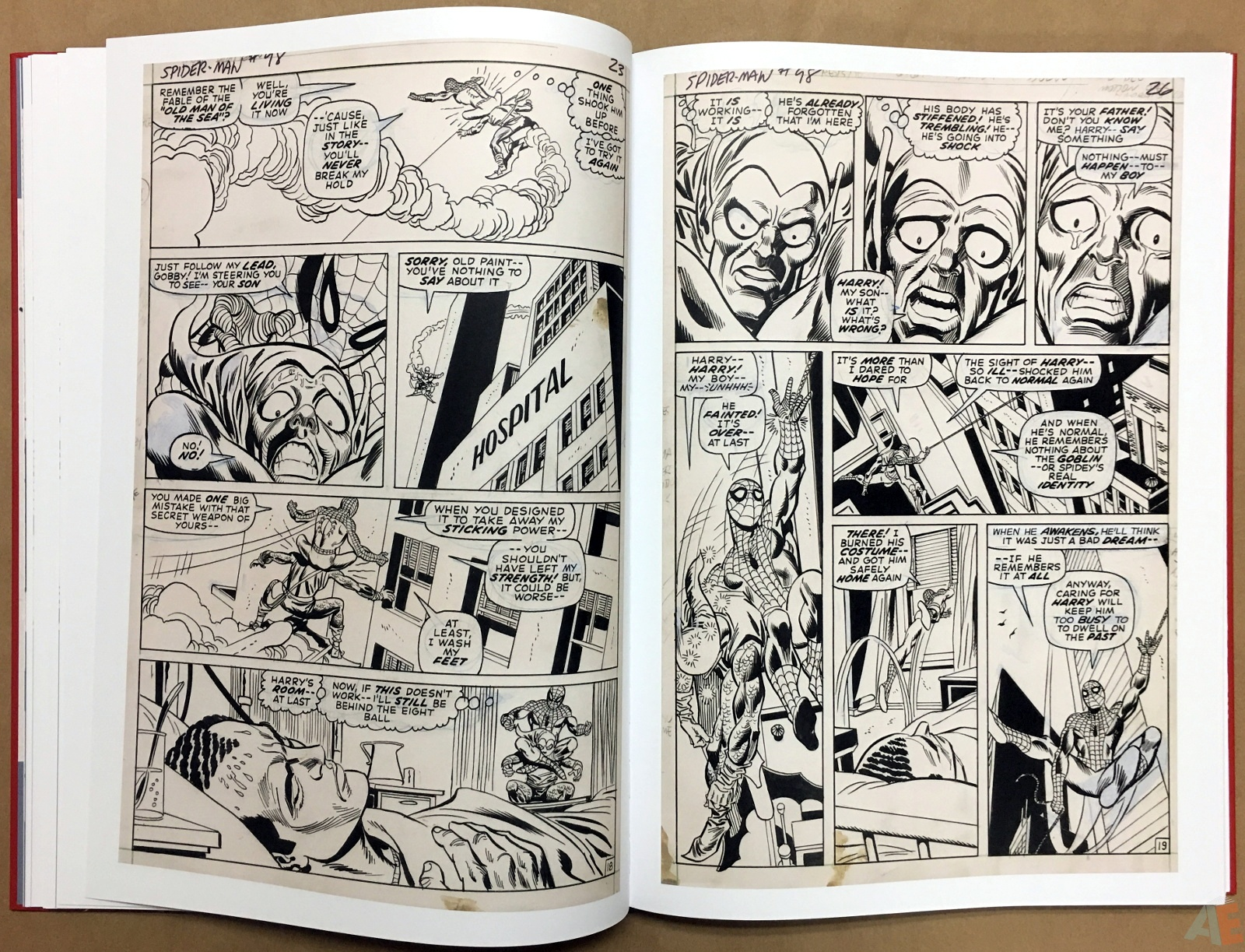 Gil Kane's The Amazing Spider-Man Artist's Edition 22