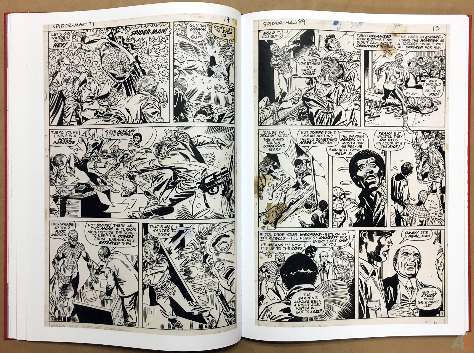 Gil Kane's The Amazing Spider-Man Artist's Edition 24