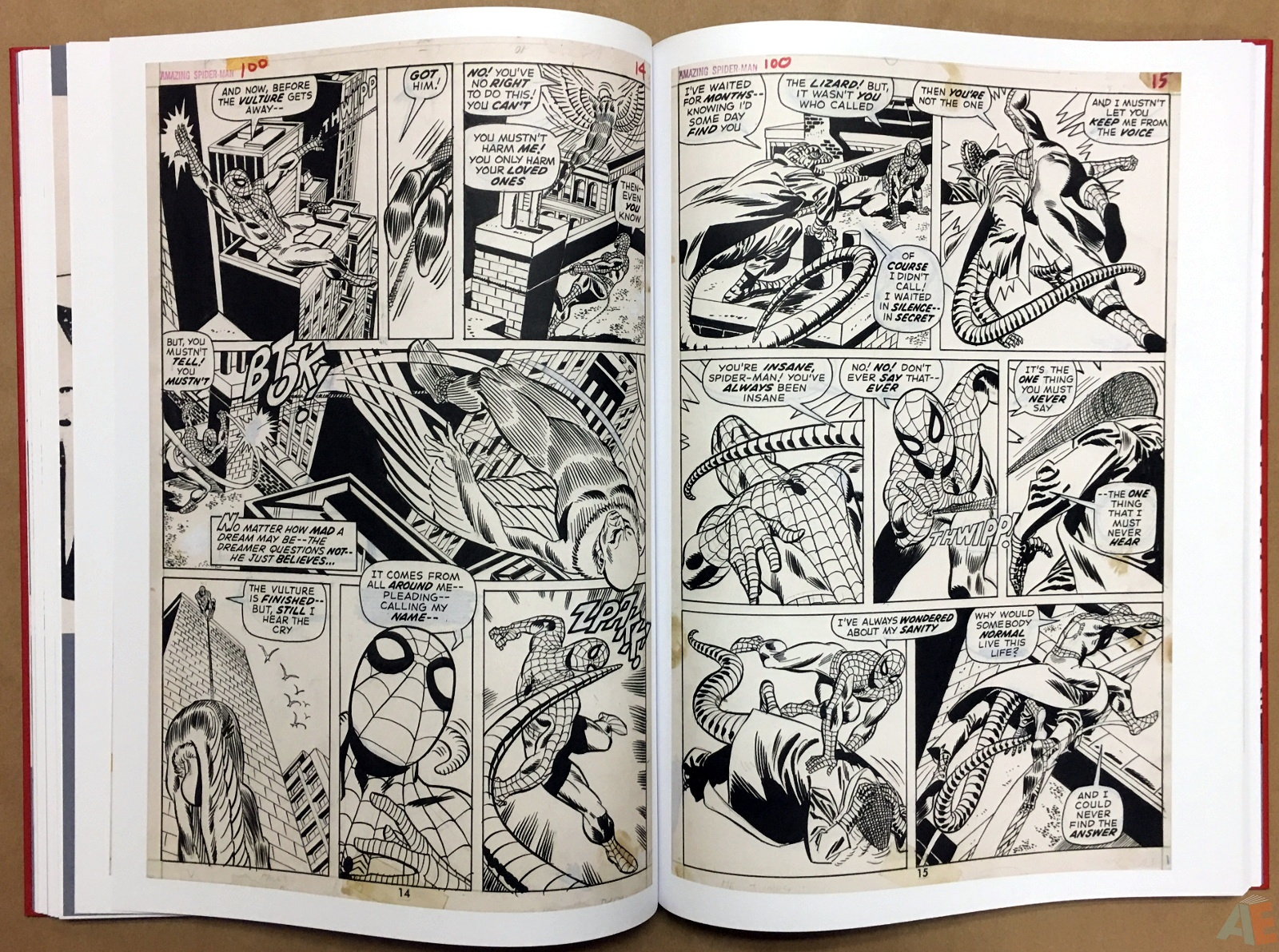 Gil Kane's The Amazing Spider-Man Artist's Edition 28